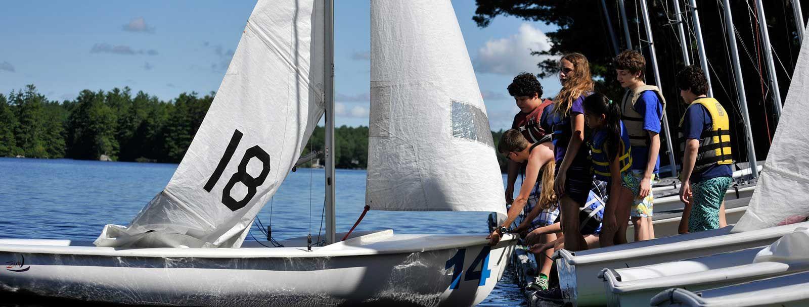 UNH sailing camp