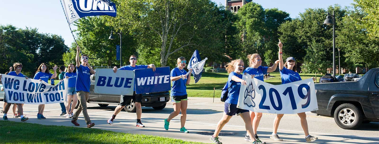 Move-in day for the UNH class of 2019