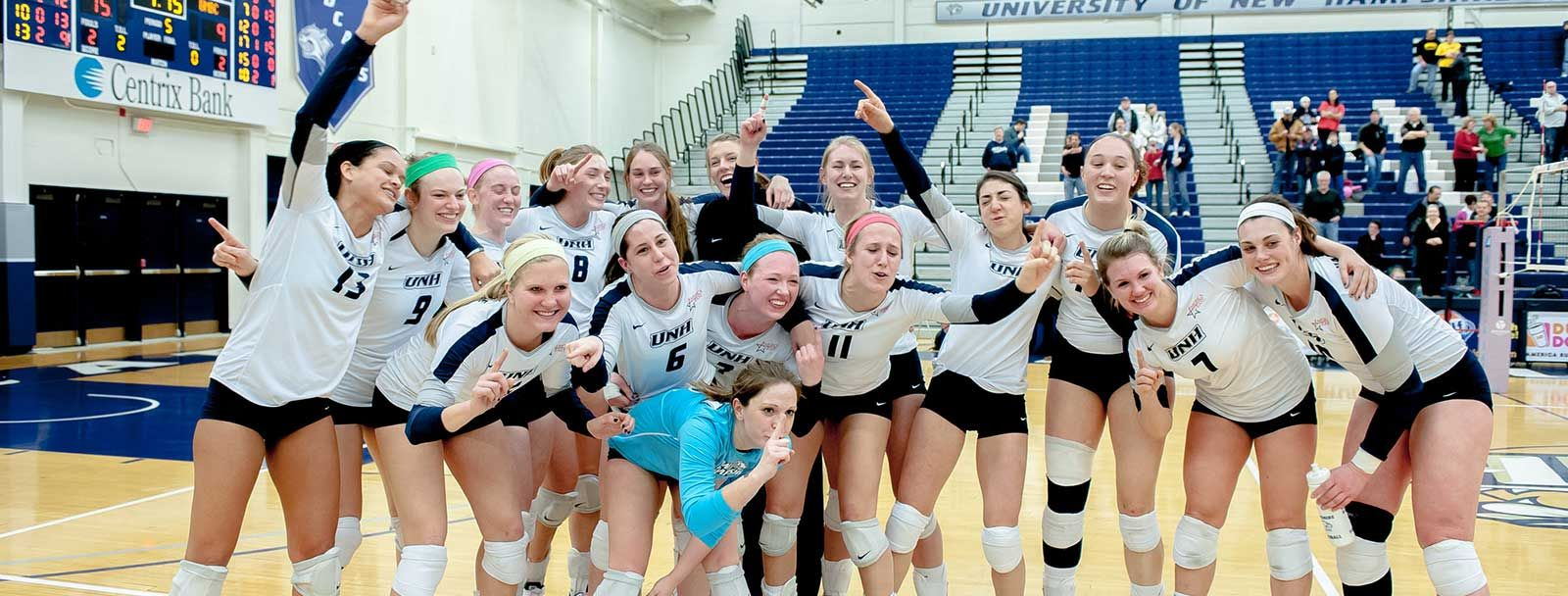 UNH volleyball team earns another academic award