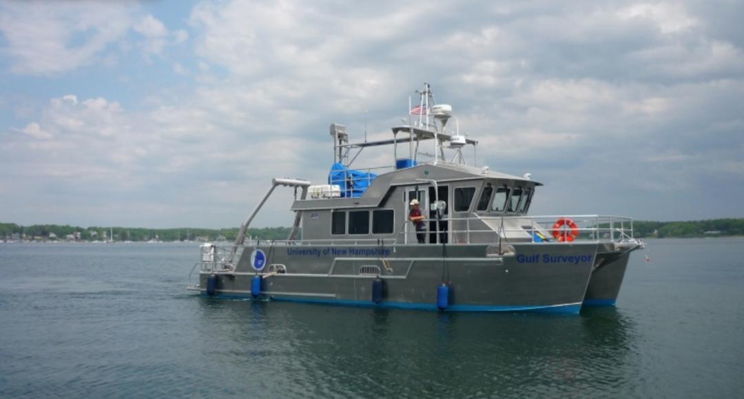 UNH research vessel Gulf Surveyor