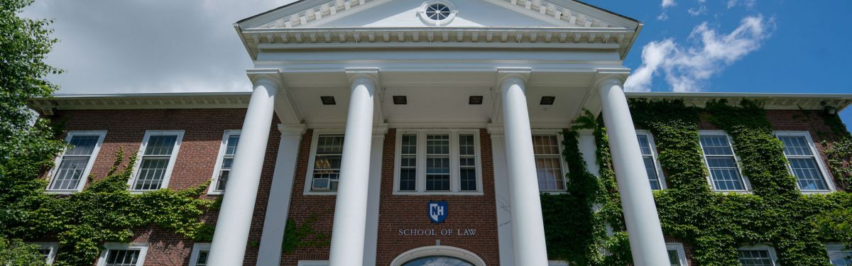 UNH Law School from outside