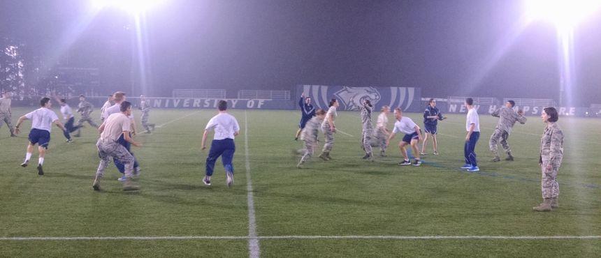 Cadet football game