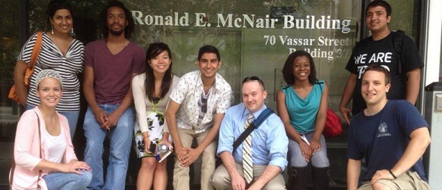 McNair Scholars Visit to MIT 2014