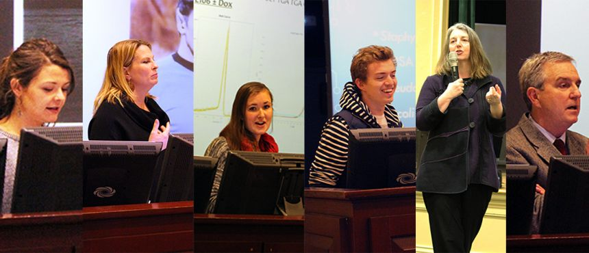Six presenters from the University Honors Program