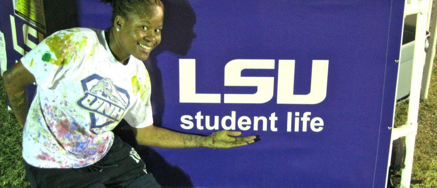 UNH student at LSU