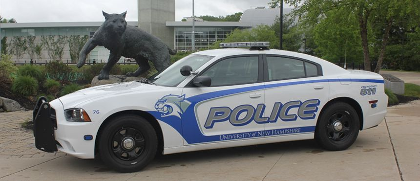 UNH Police at the Wildcat