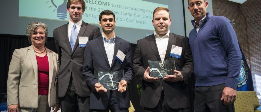NH SVIC 2016 Community Track Winners DreamTech Water Solutions and Full Spectrum Broadband