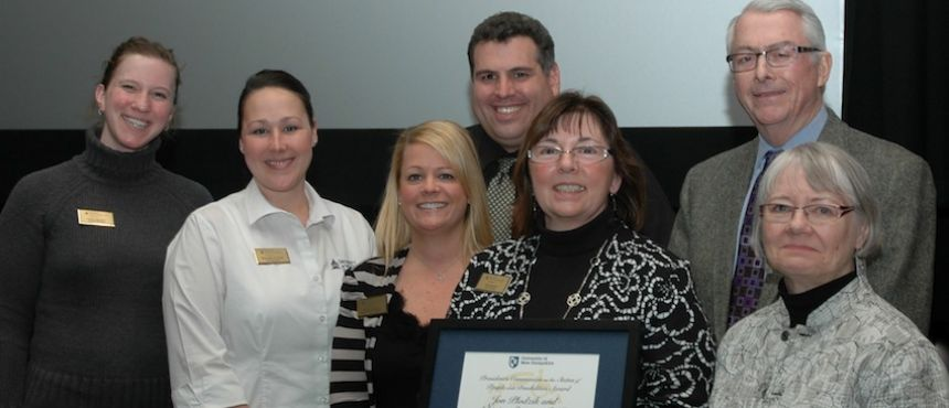 Dining Services, receipients of 2014 Disability Commission Award