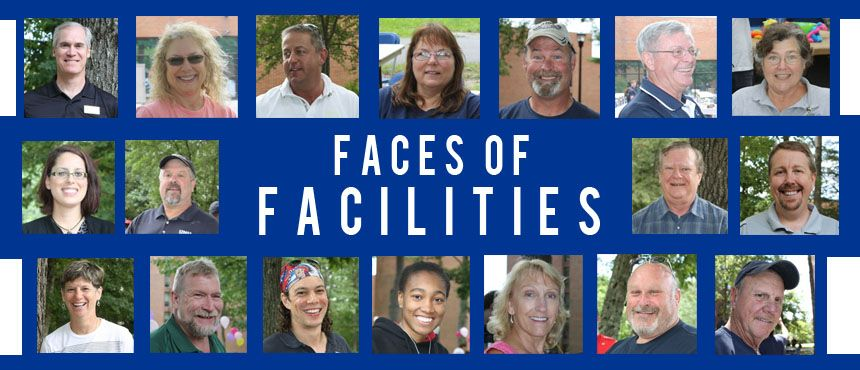 Collage of facilities employees