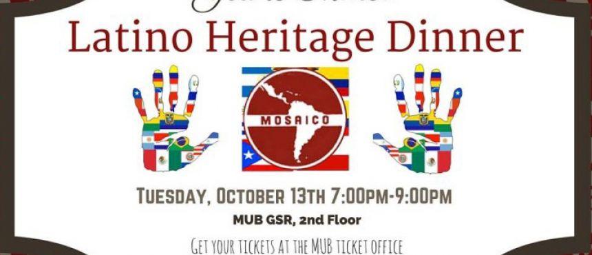 MOSAICO Latino Heritage Dinner
