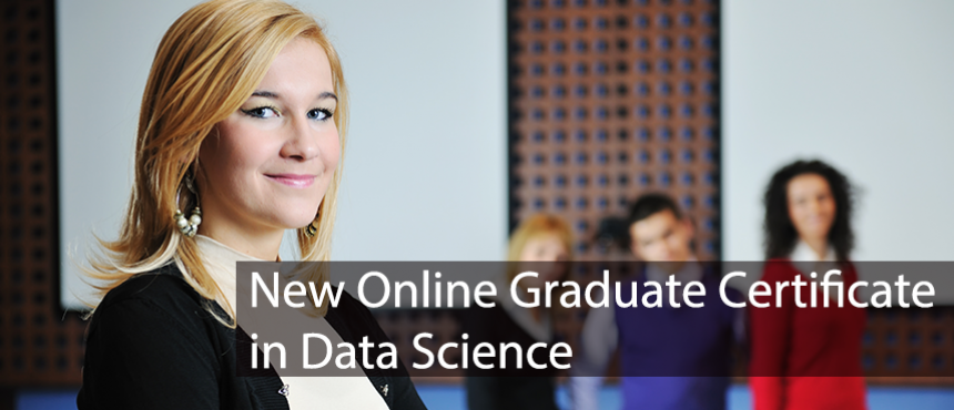 New Online Data Science Graduate Certificate