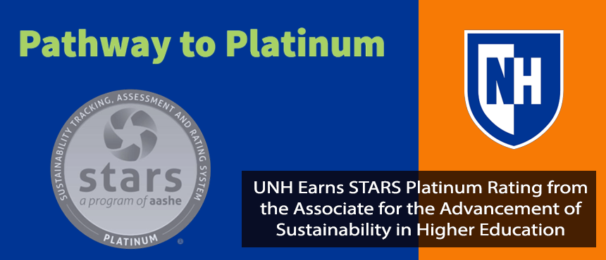 UNH wins Platinum Stars for Sustainability
