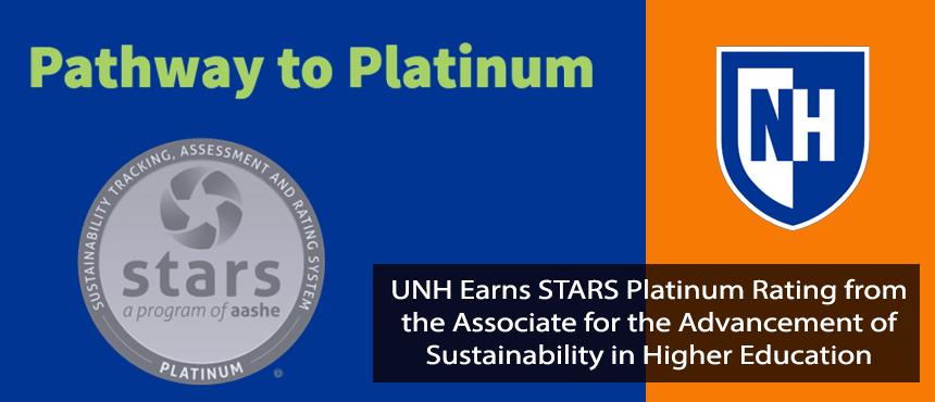 Platinum Stars awar for Sustainability
