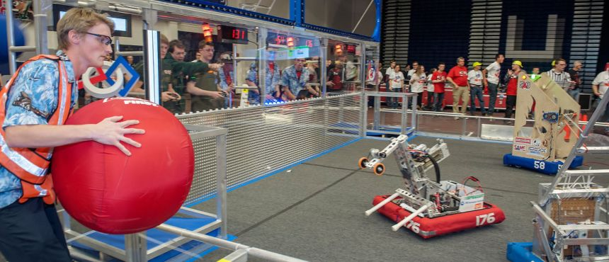 first robotics competition at unh