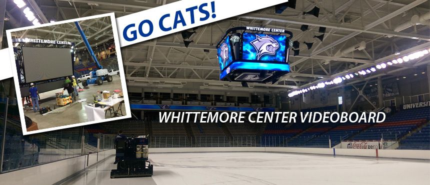 Whittemore Center Scoreboard