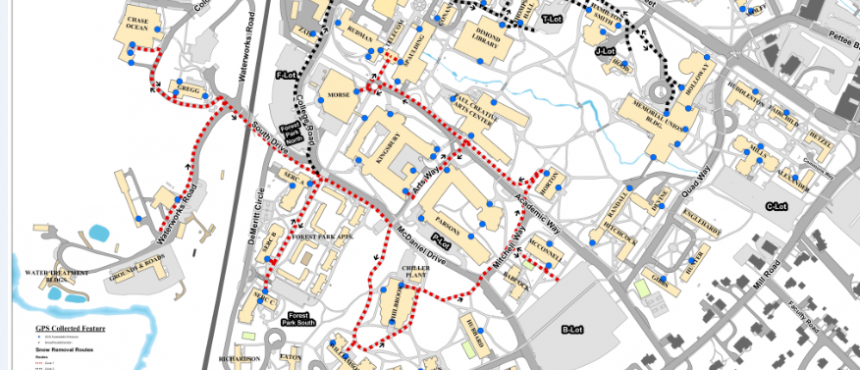 Map of Priority Route for Snow Removal