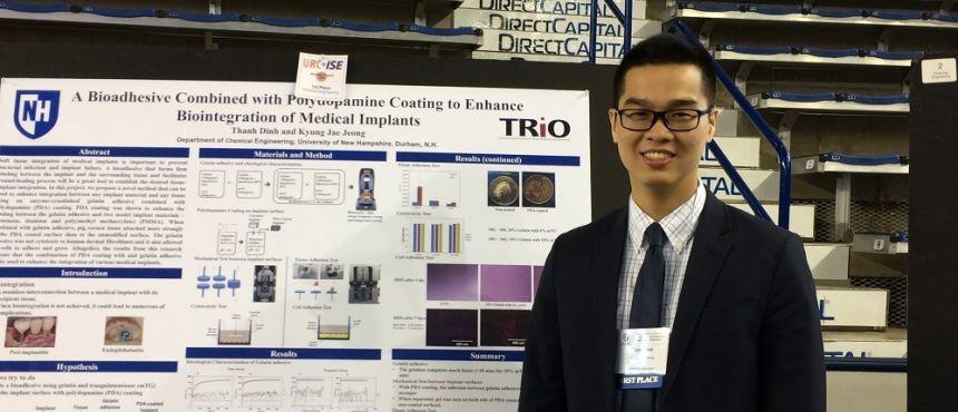 Thanh Dinh, McNair Scholar