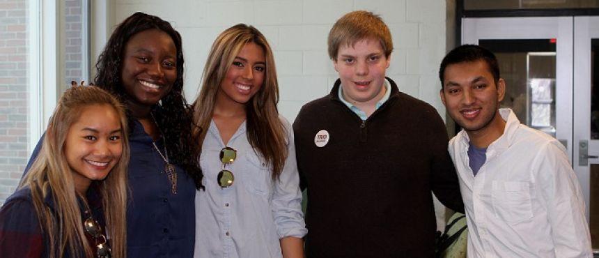 Photo of TRIO students