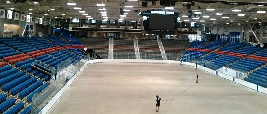 Whittemore Center - Ice Arena lighting upgrade
