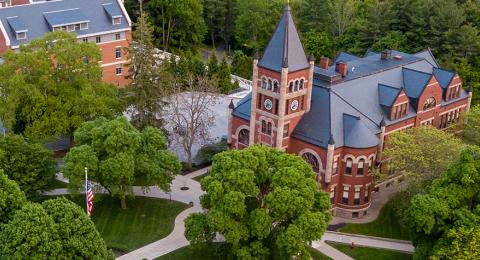 UNH campus arial
