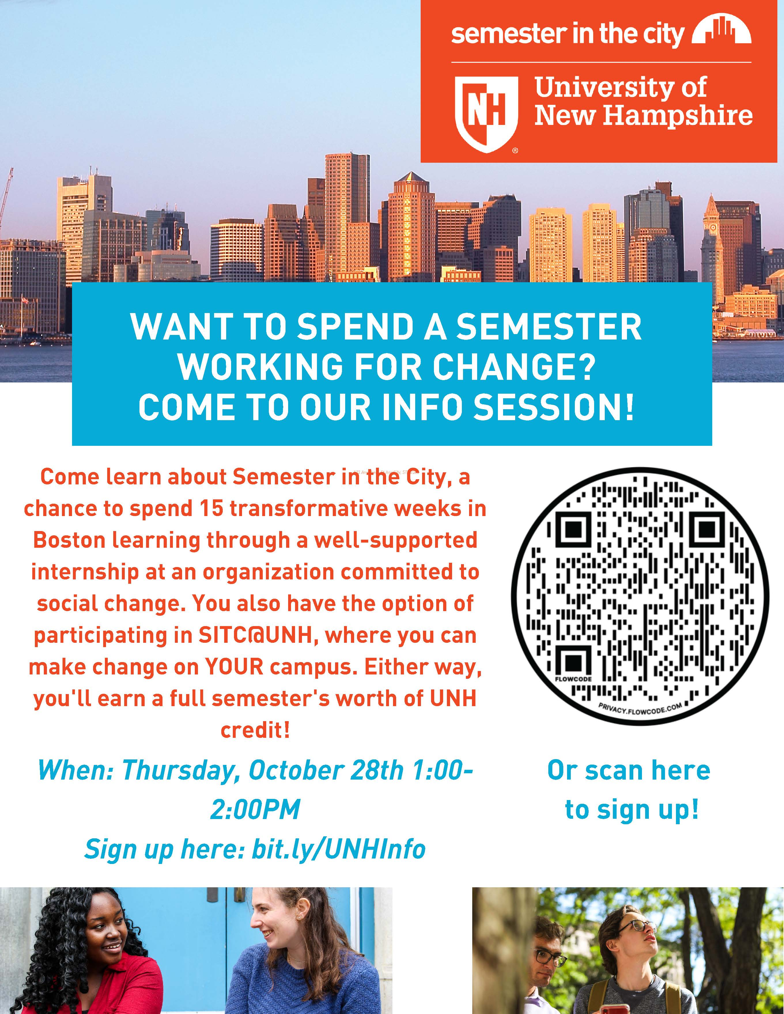 Semester in the City Info-Session