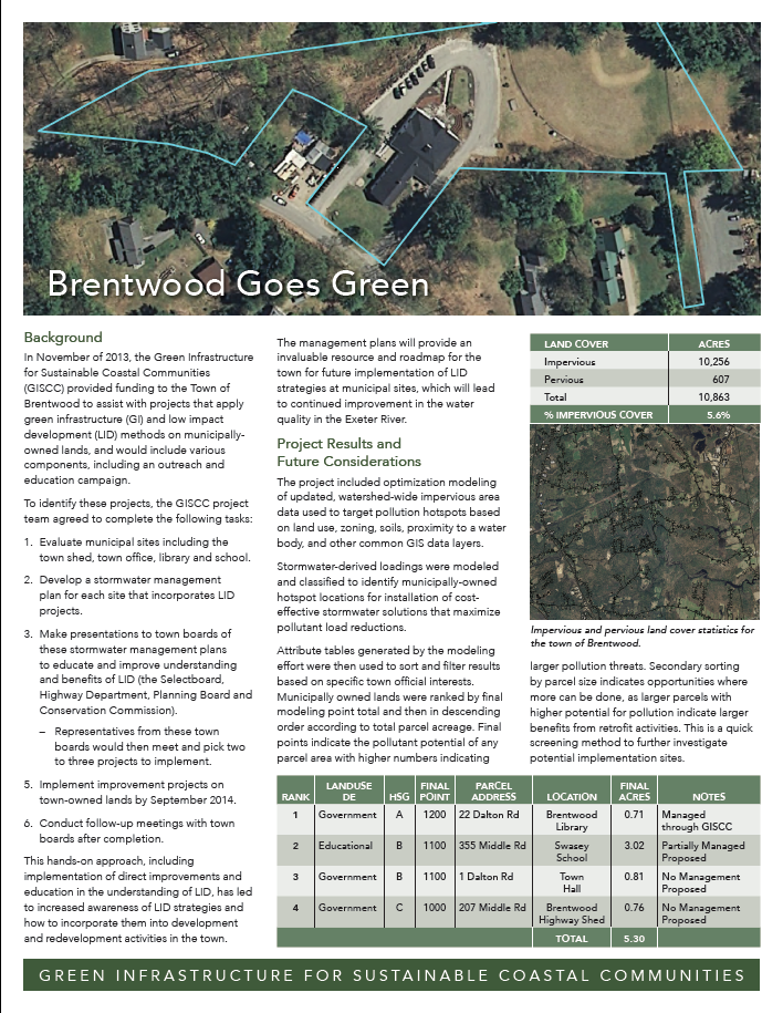 Brentwood Goes Green