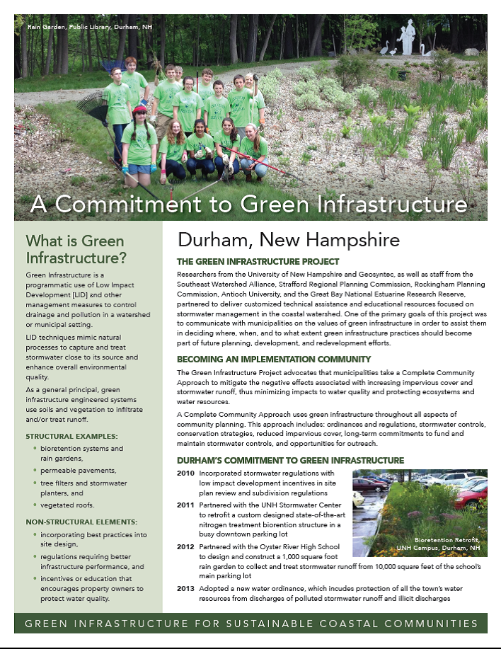 Durham, a commitment to GI