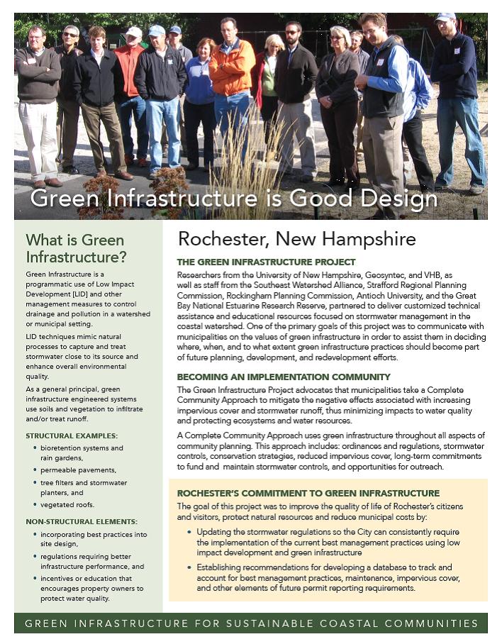 Rochester, updating stormwater standards