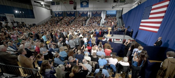 President Clinton Speaks at UNH