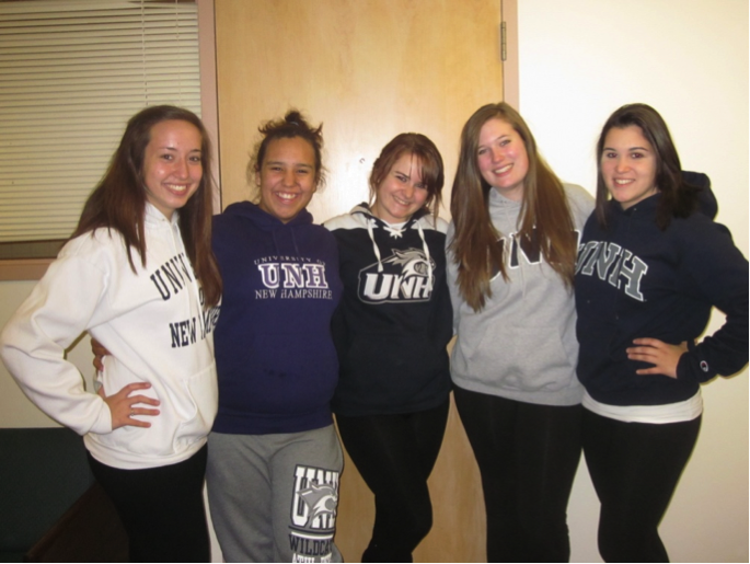 UNH Clothing Shows Off School Spirit