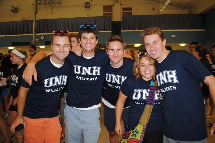 UNH Spirit Rally Kicks Off School Year