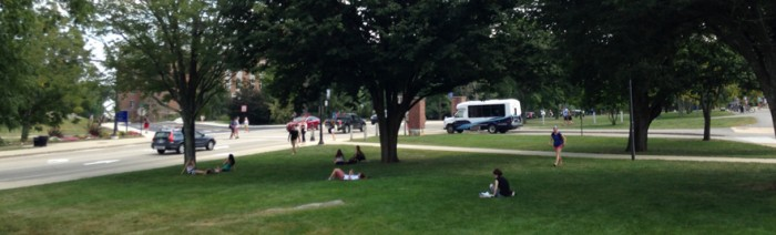 The Joy of Being Outdoors at UNH