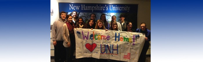 UNH Pease Greeters