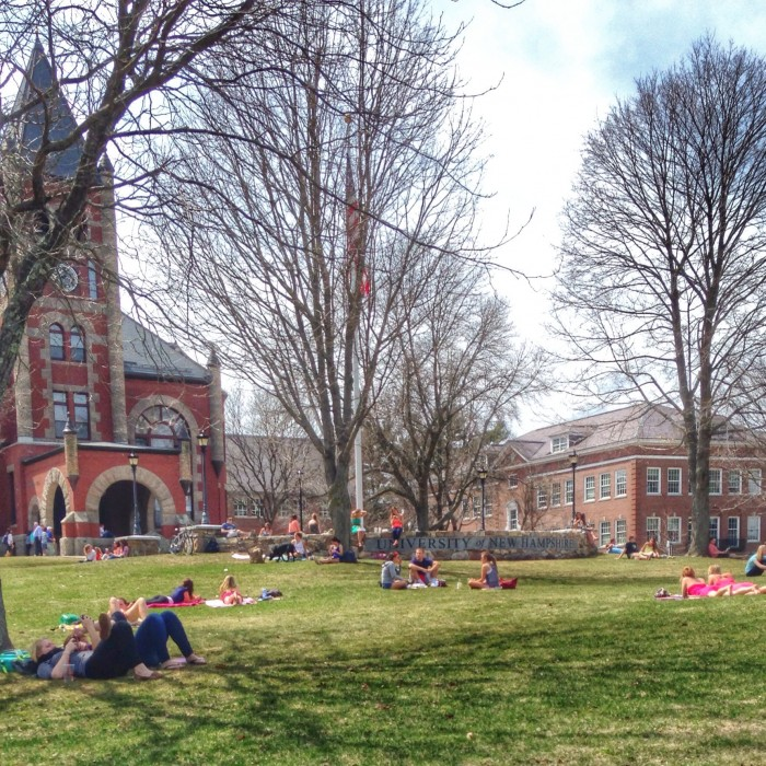 UNH Happy About Spring