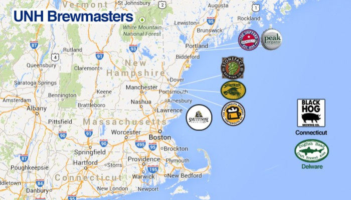 new hampshire brewery map What S Brewing From Unh Unh Tales new hampshire brewery map