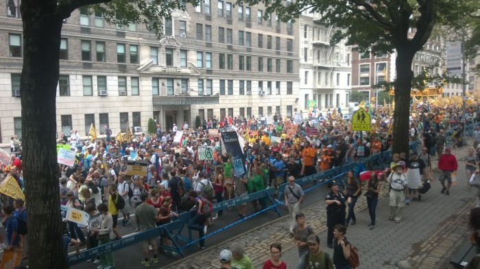 A UNH Voice from the People's Climate March