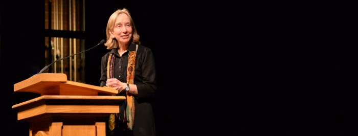 Doris Kearns Goodwin at UNH