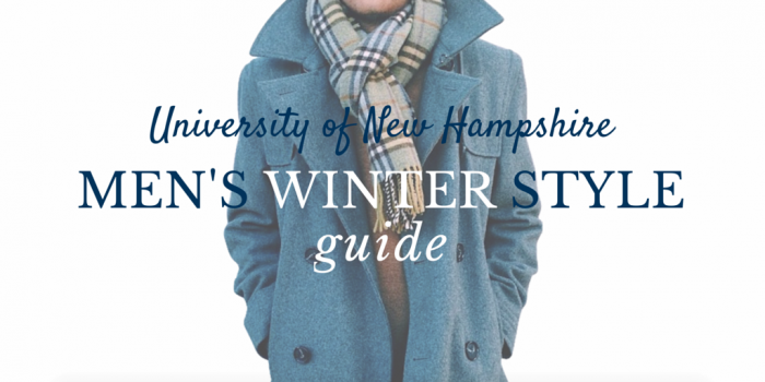 UNH Men's Winter Style Tips