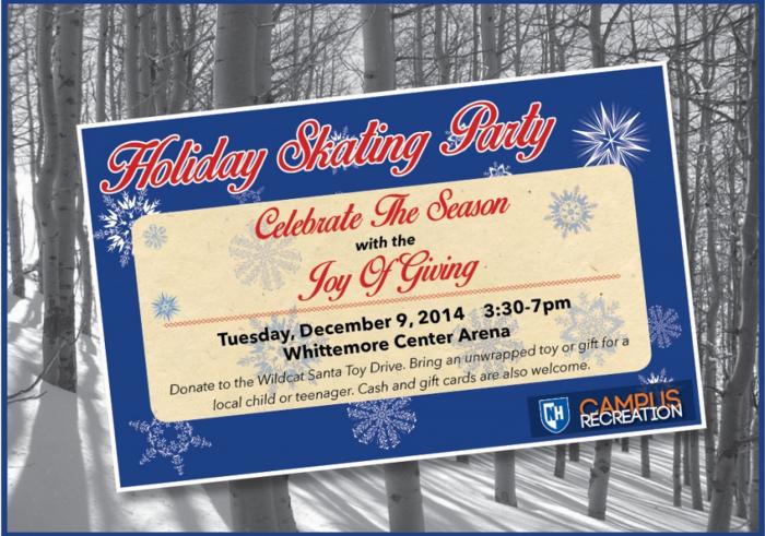 UNH Holiday Skating Party 2014