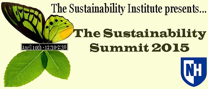 Get Energized for the 2015 Sustainability Summit!