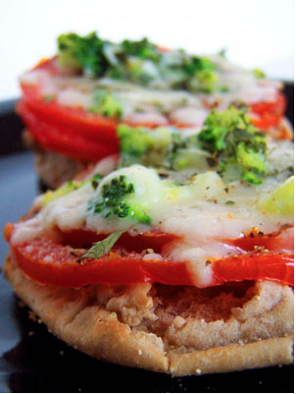 SPIN on Pizza Bagel