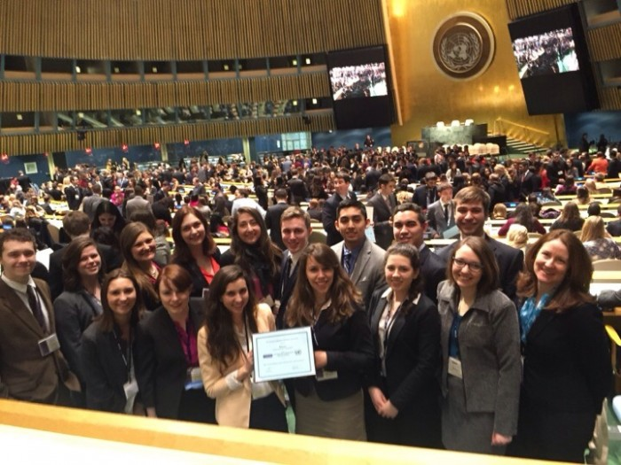Collaboration and Conflict Resolution: A Week in the Big Apple with UNH Model UN