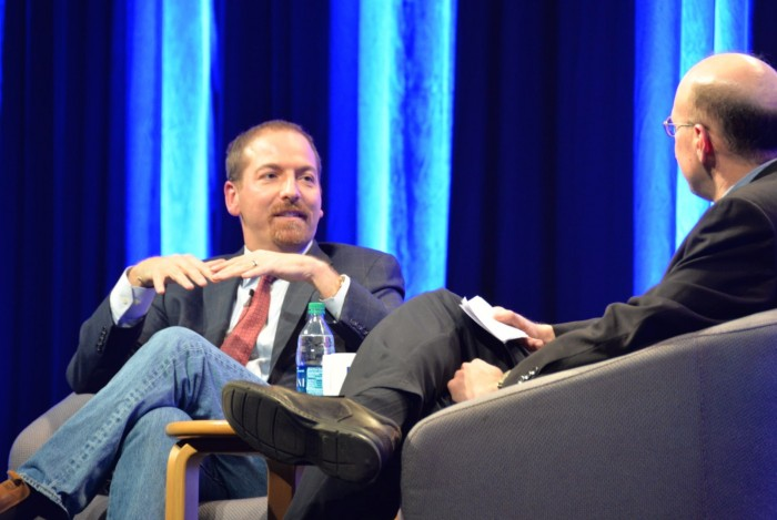NBC Journalist Chuck Todd Talks Politics at UNH