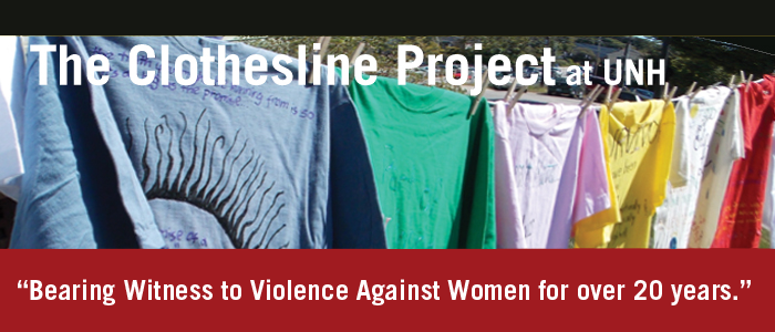 The Clothesline Project at UNH