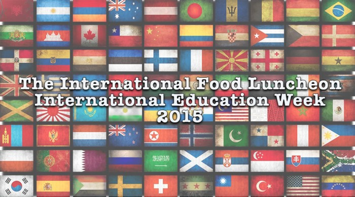 Cooking Together: The International Food Luncheon