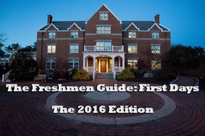 The 2016 Freshmen Guide Part 1: First Days