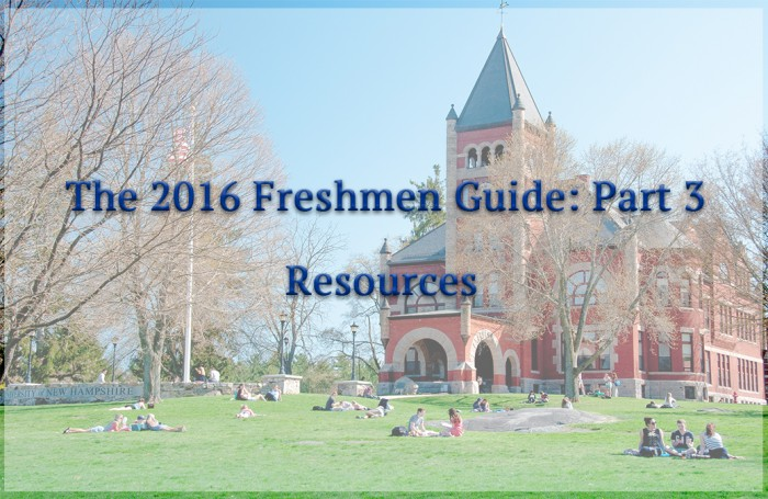 The 2016 Freshman Guide Part 3: Resources