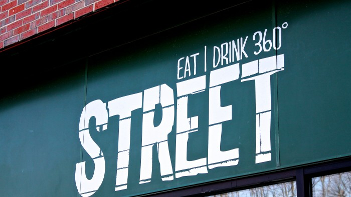 Eat, Drink, Repeat at Street