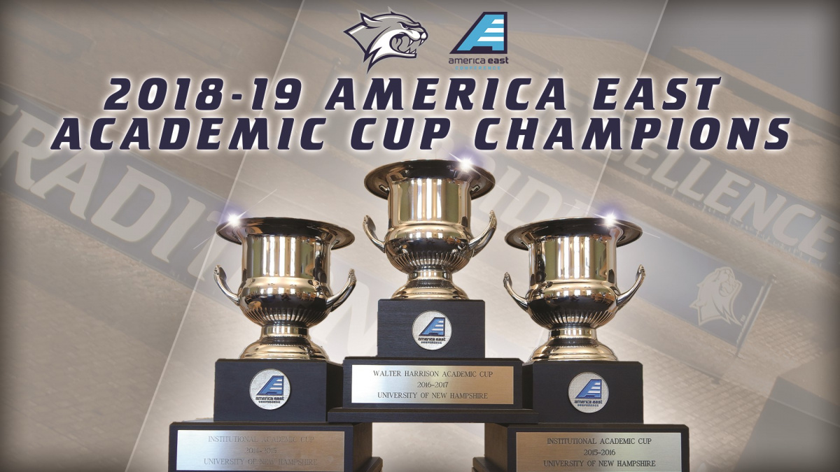An image of the America East Academic Cup