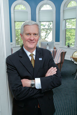 UNH President Mark W. Huddleston